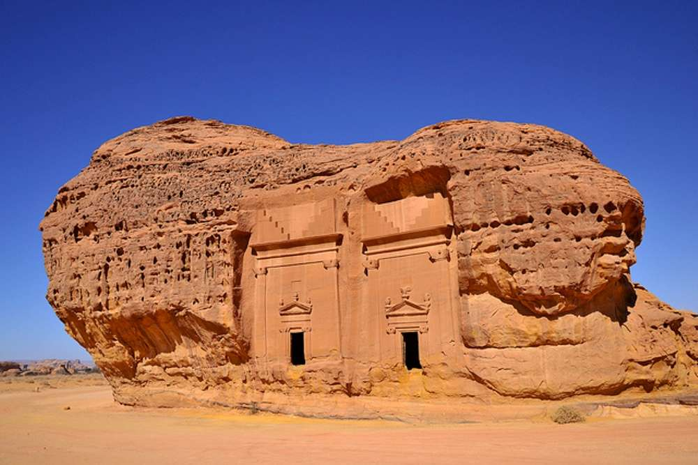 Pre-Islamic civilisation in Madain Saleh in Saudi Arabia