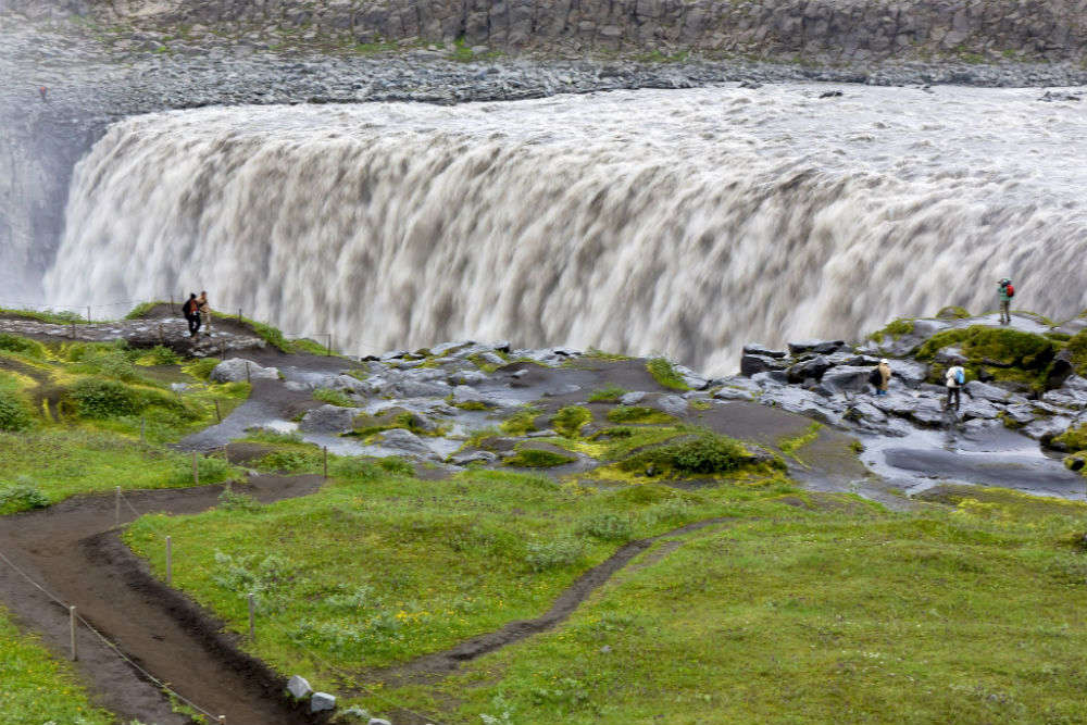 Dettifoss—the most powerful waterfall in Europe