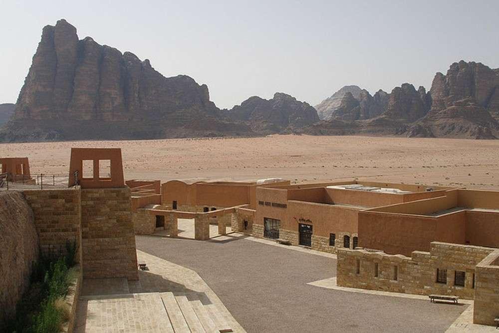 Organic farming in the deserts of Wadi Rum