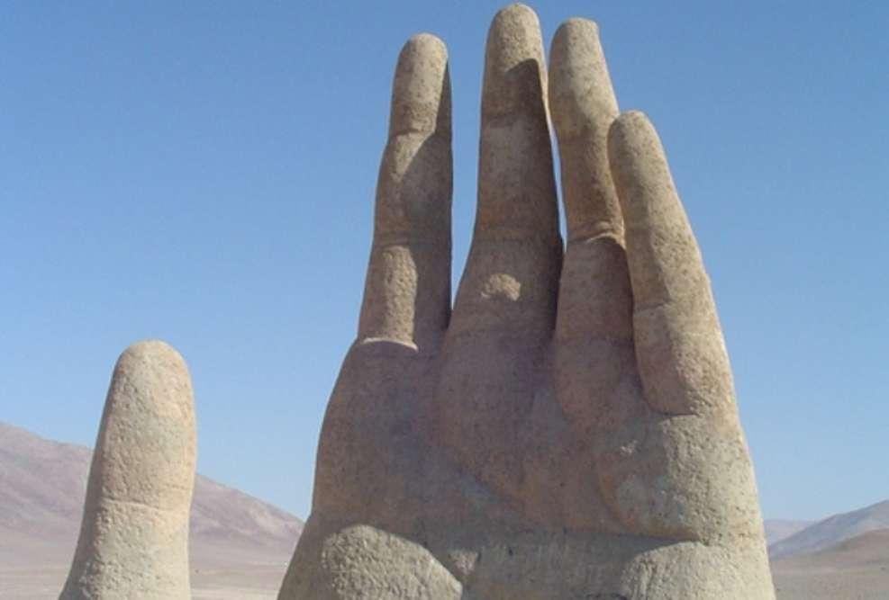 The hand of Atacama Desert