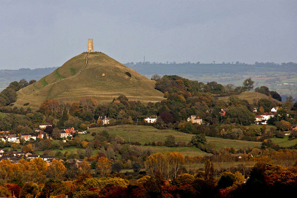 Glastonbury Tor: one of the most spiritual sites in England