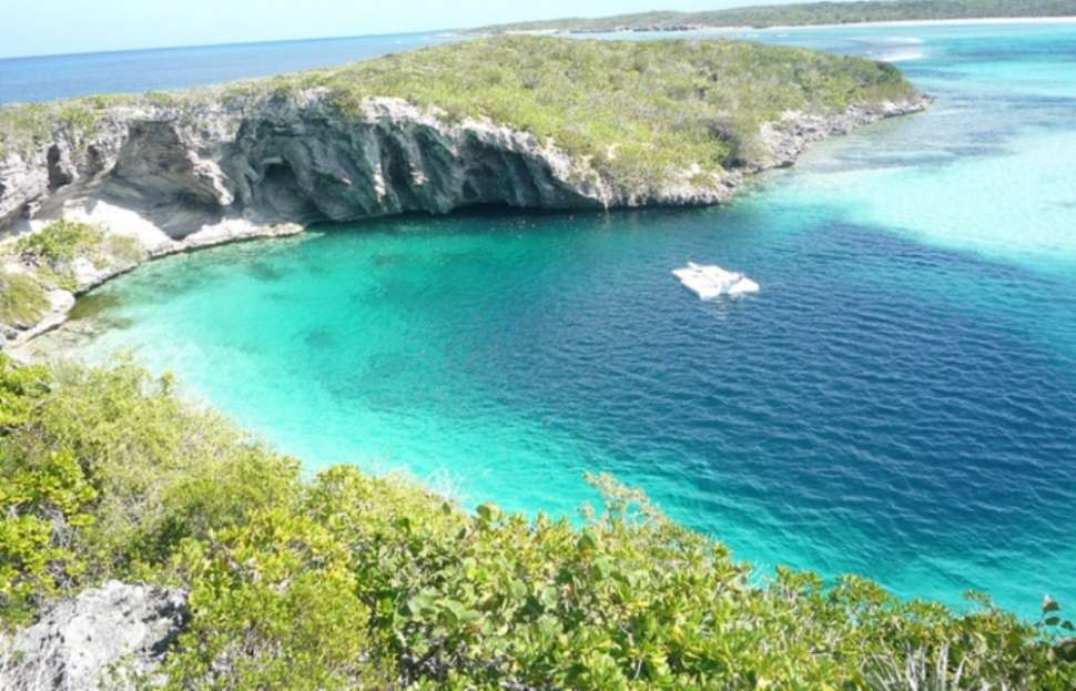 Dean's Blue Hole: the world's deepest blue hole