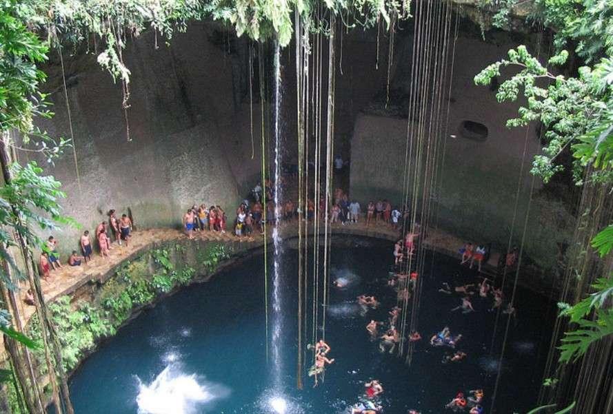 Cenotes of the Yucatán Peninsula in Mexico