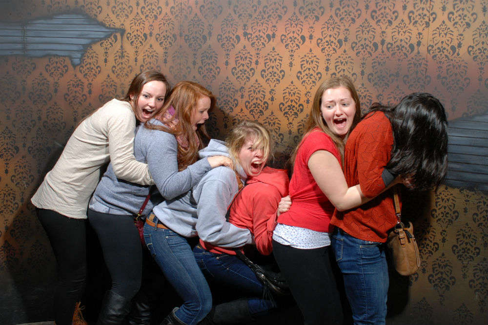Nightmares Fear Factory: the scariest attraction in Niagara Falls