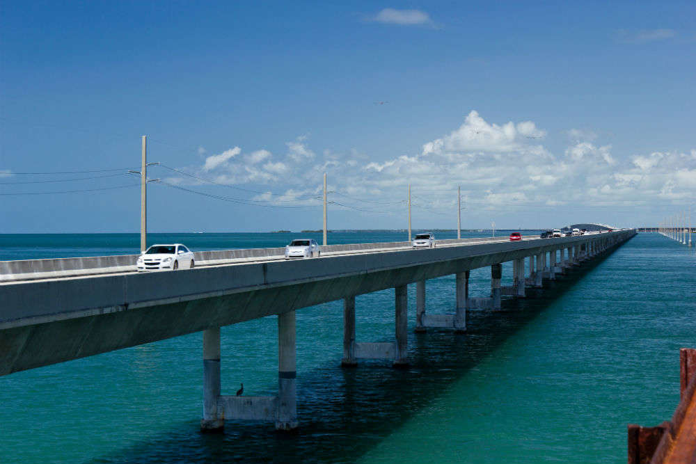 Seven Mile Bridge: one of the world's longest segmental bridges