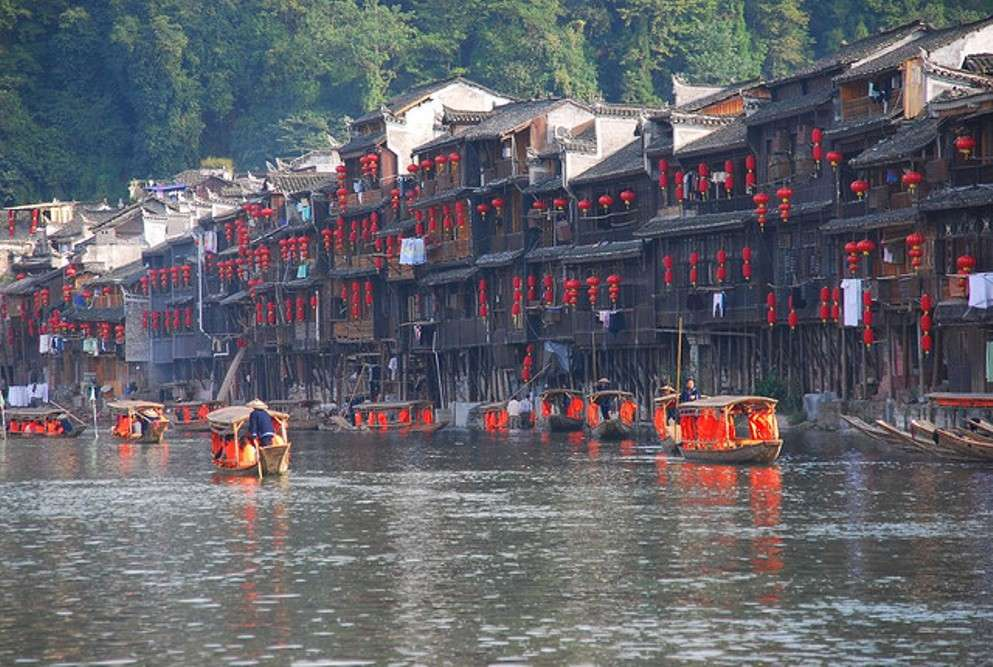 Fenghuang: a town frozen in time