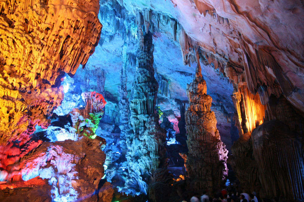 The Reed Flute Cave of Guilin
