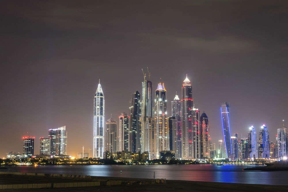 The fantastic nightlife scene of Dubai