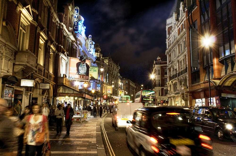 West End—a tour of London's Theatreland