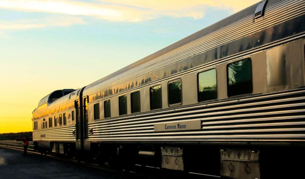 The Canadian: an epic journey across Canada by train