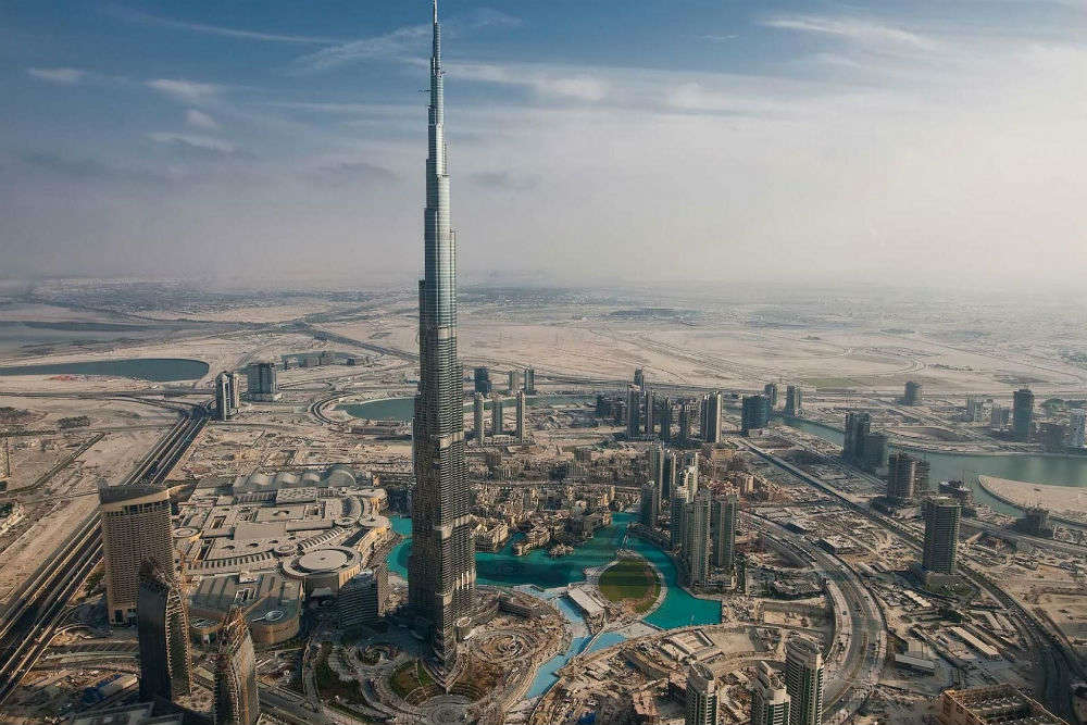 Major attractions in and around Burj Khalifa