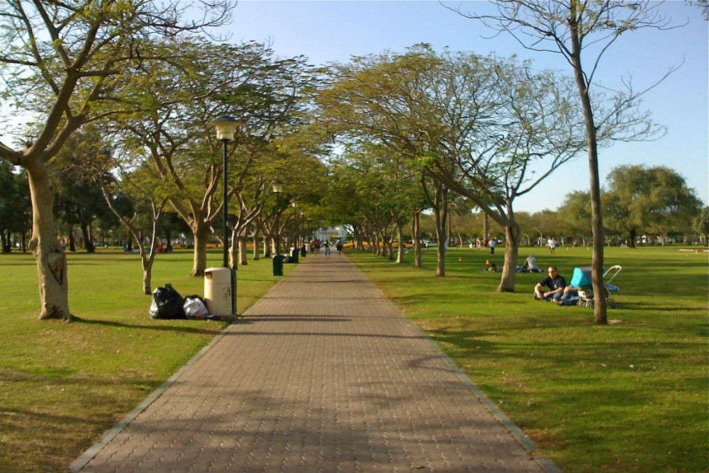 The most popular parks in Dubai