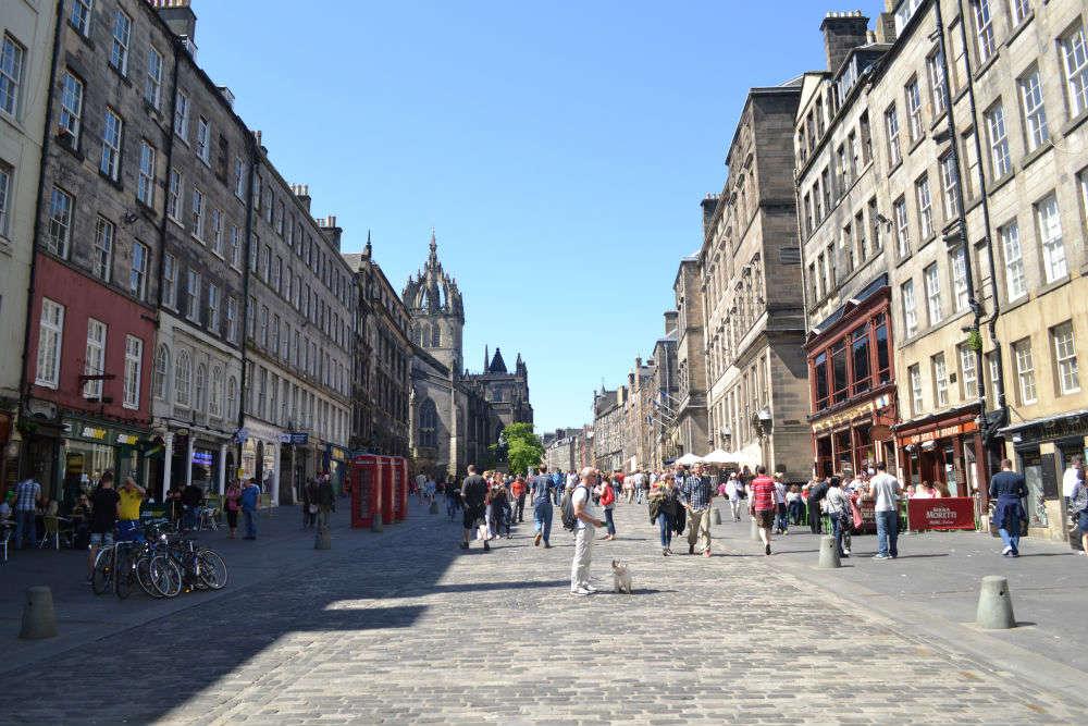 Edinburgh for free