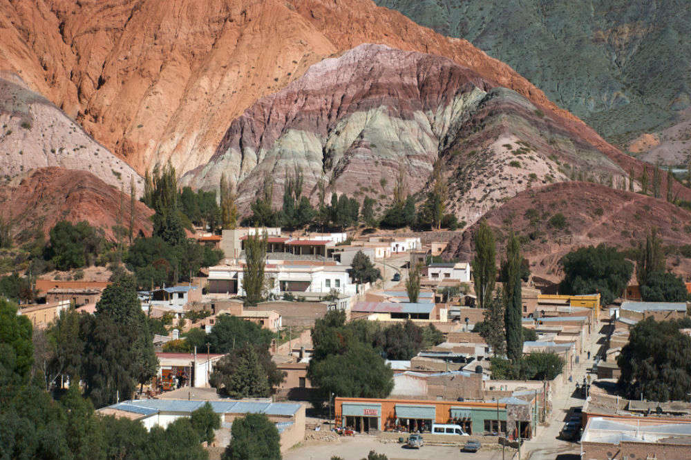 The Hill of Seven Colours in Purmamarca