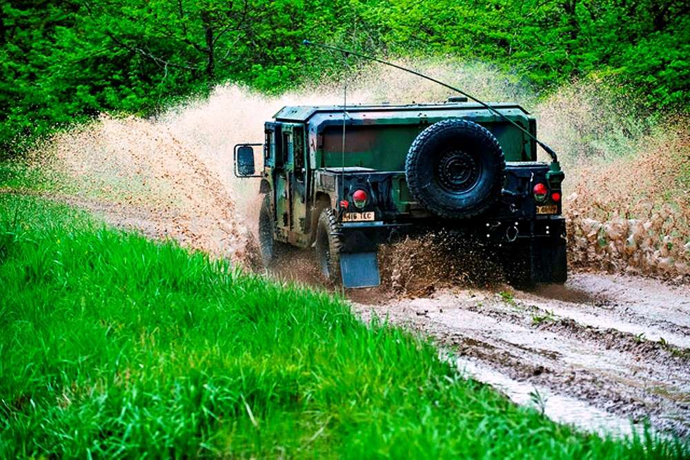 Off-road driving