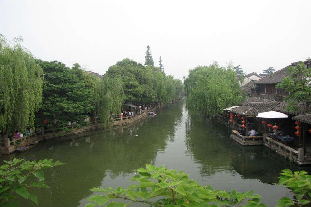The beautiful water town of Zhouzhuang