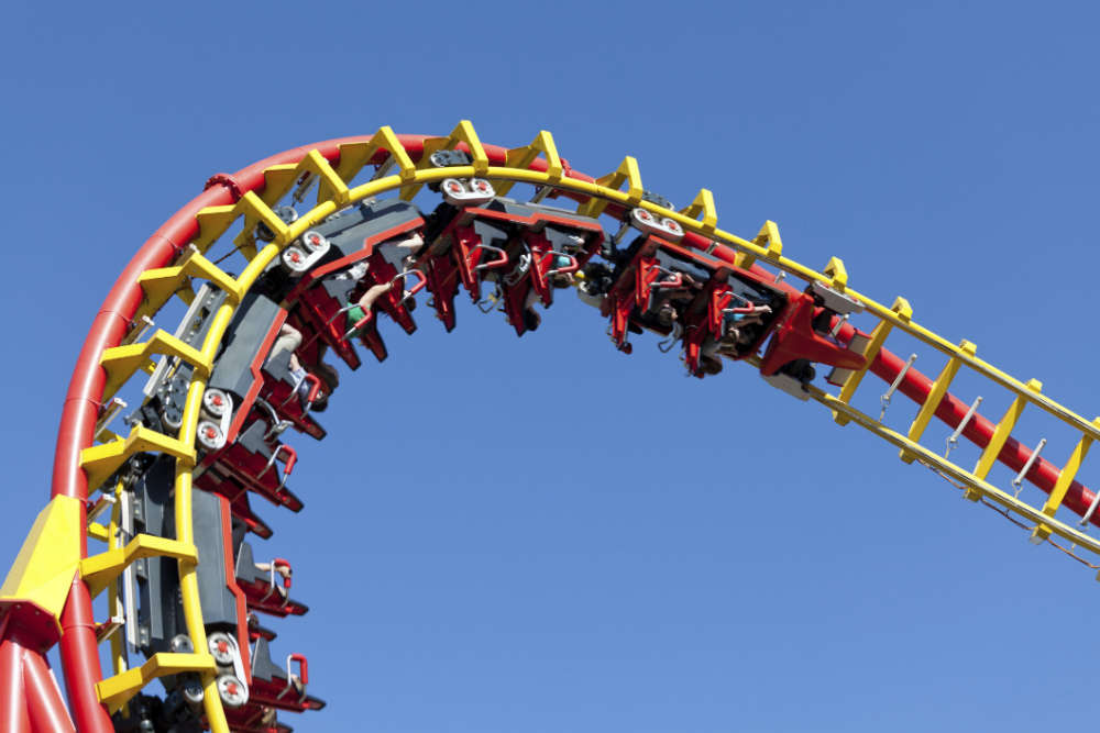 Take a roller coaster ride at Essel World