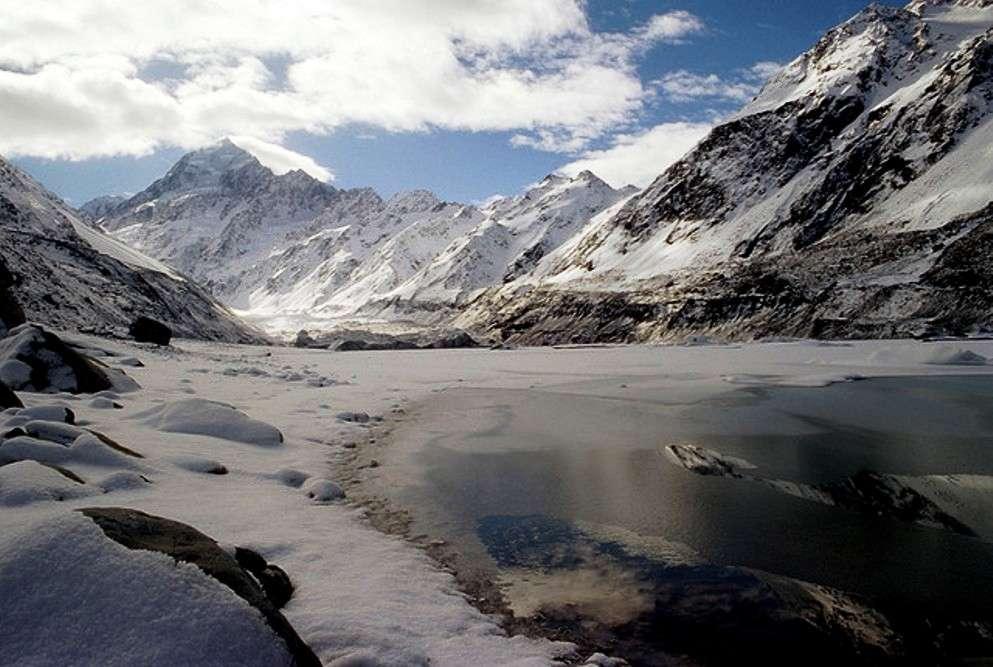 Snowed under in New Zealand