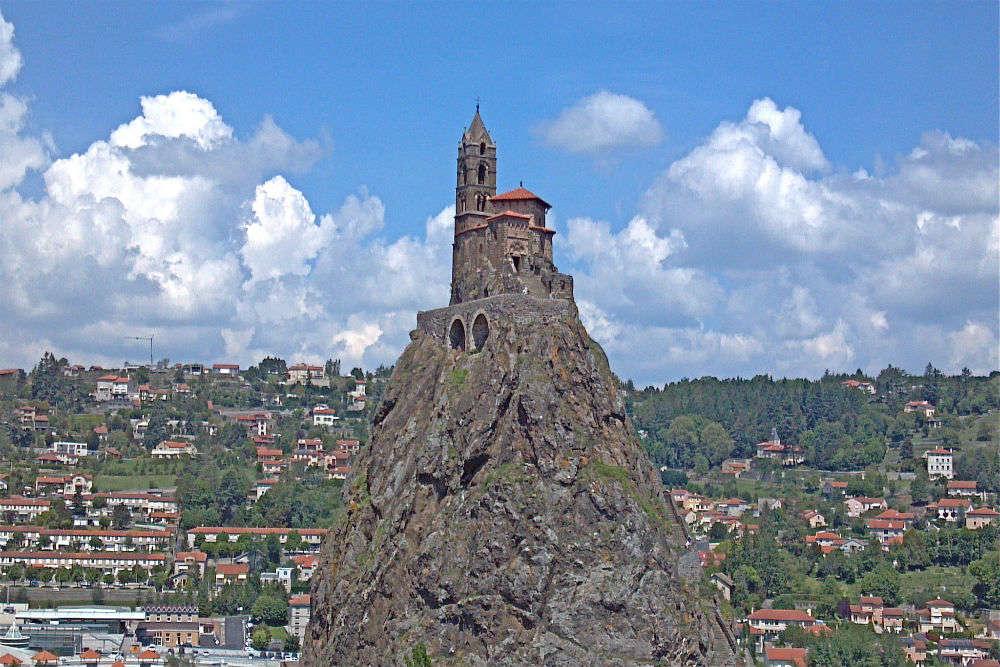 Saint Michel d'Aiguilhe—the chapel on a volcanic plug