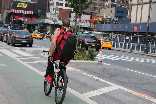 Explore NYC on a bike