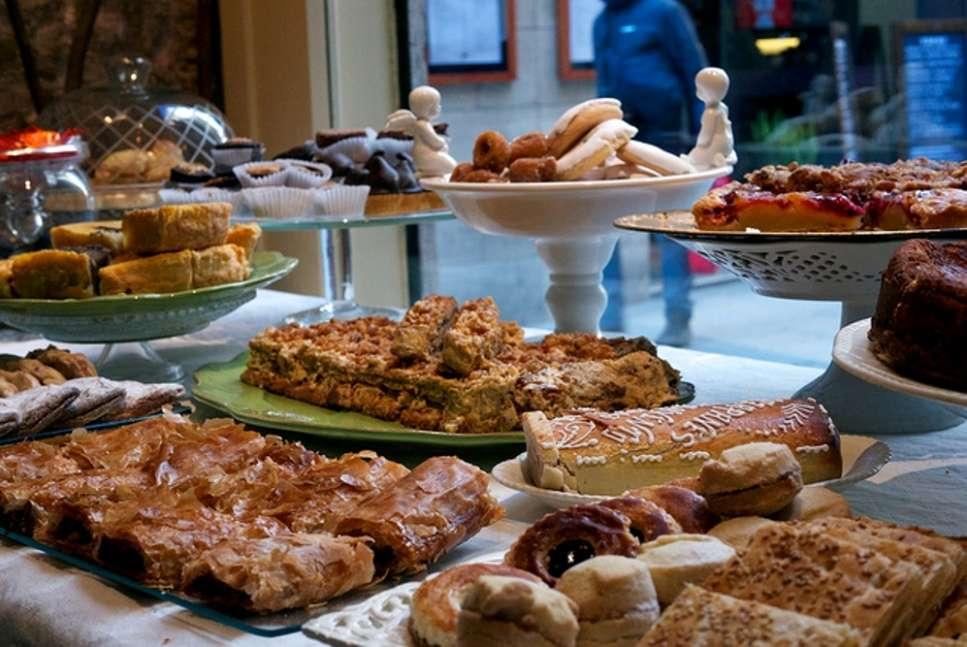 Gastronomic scene in Barcelona