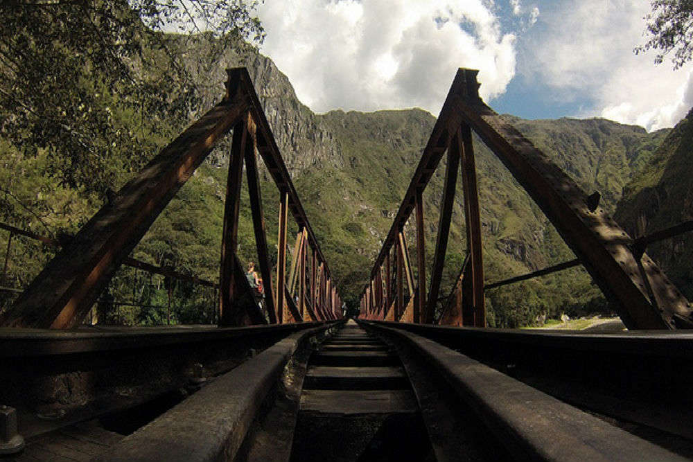 The Little Hell Bridge of Peru