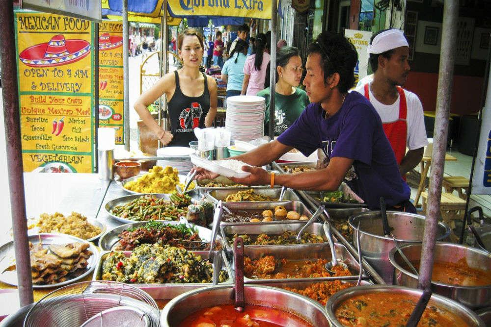 Bangkok's hawker stalls