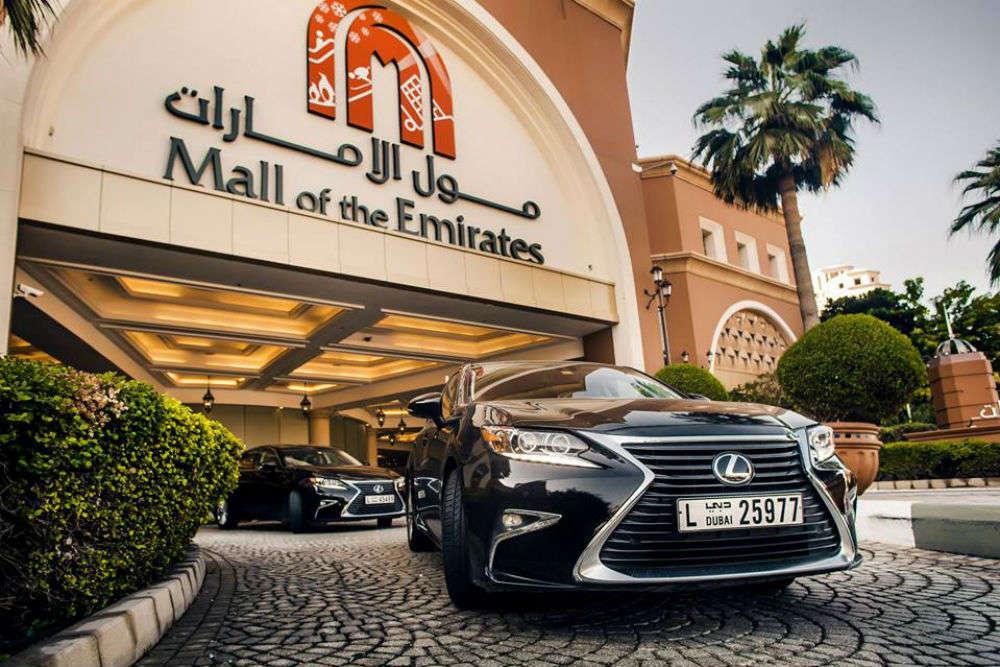 Top malls in Dubai