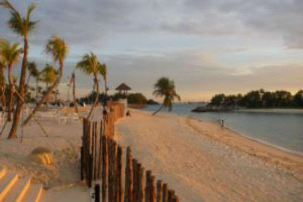 Sentosa Island beaches
