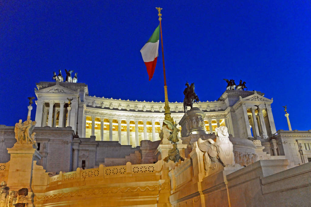 Piazza Venezia - The Victor Emmanuel Monument