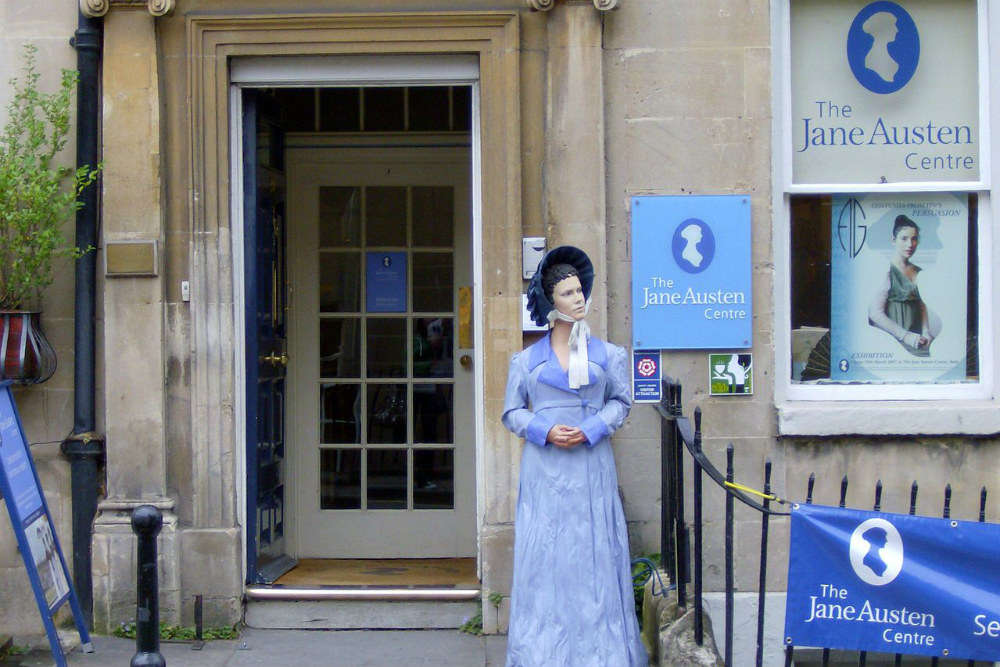 Get cultured at the Jane Austen Centre