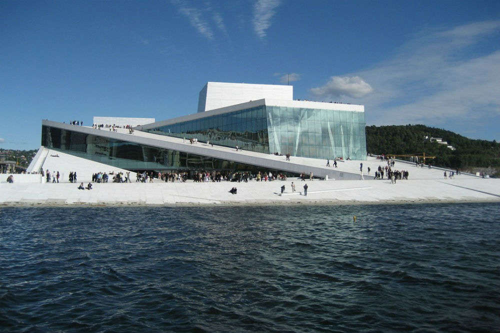 The Norweigan National Opera and Ballet House