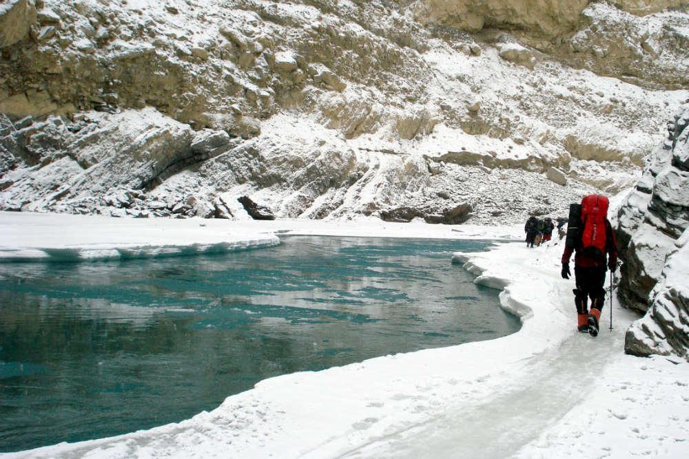 Chadar Trek to Zanskar