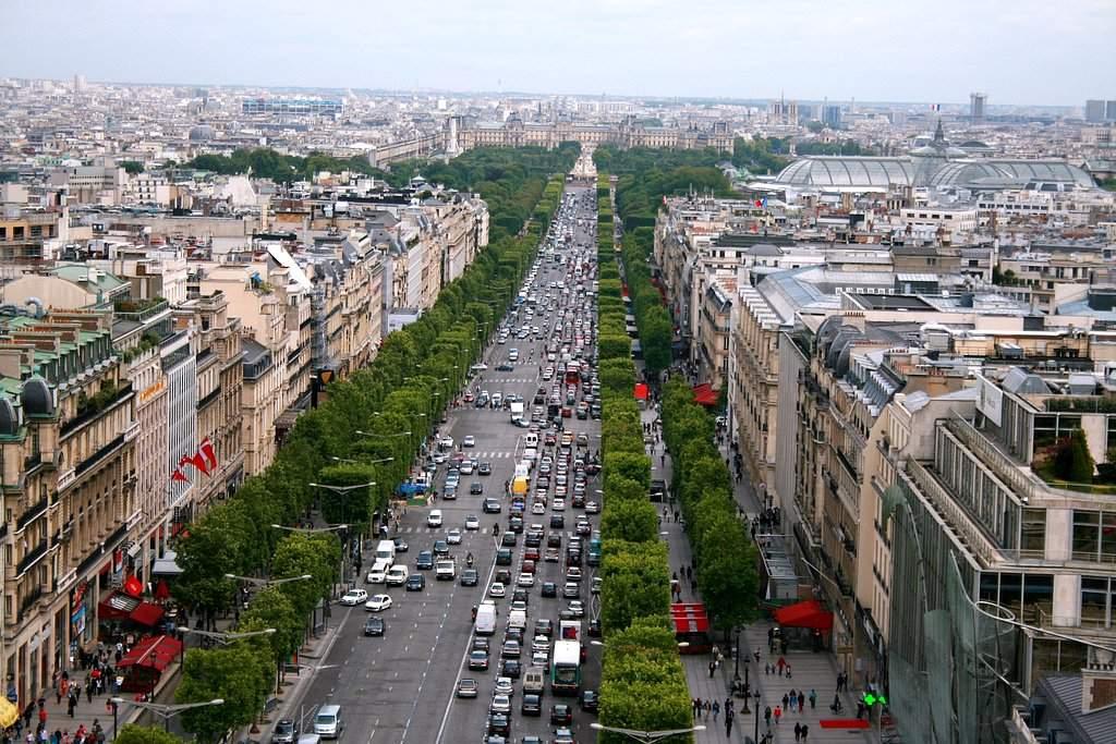 Etoile and Champs-Elysées