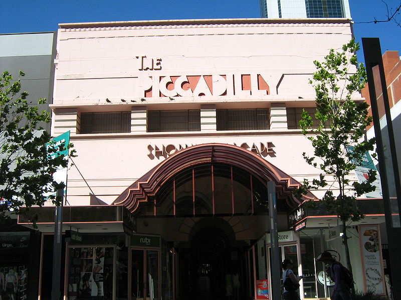 Perth's arcades