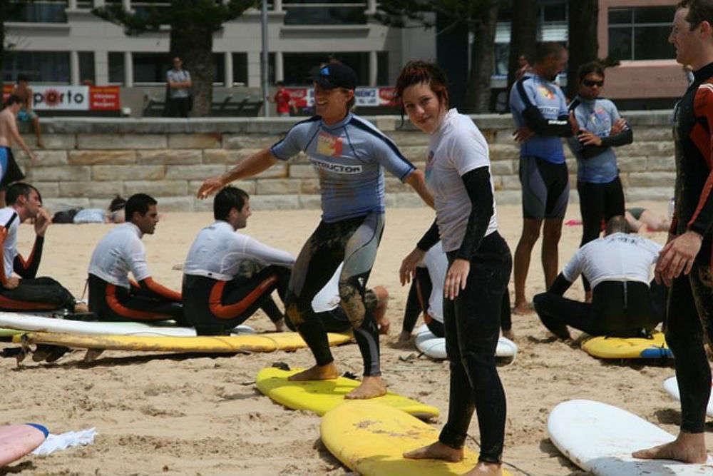 Take a surf lesson