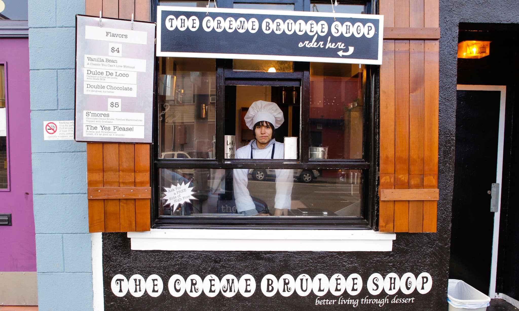 The Crème Brûlée Shop