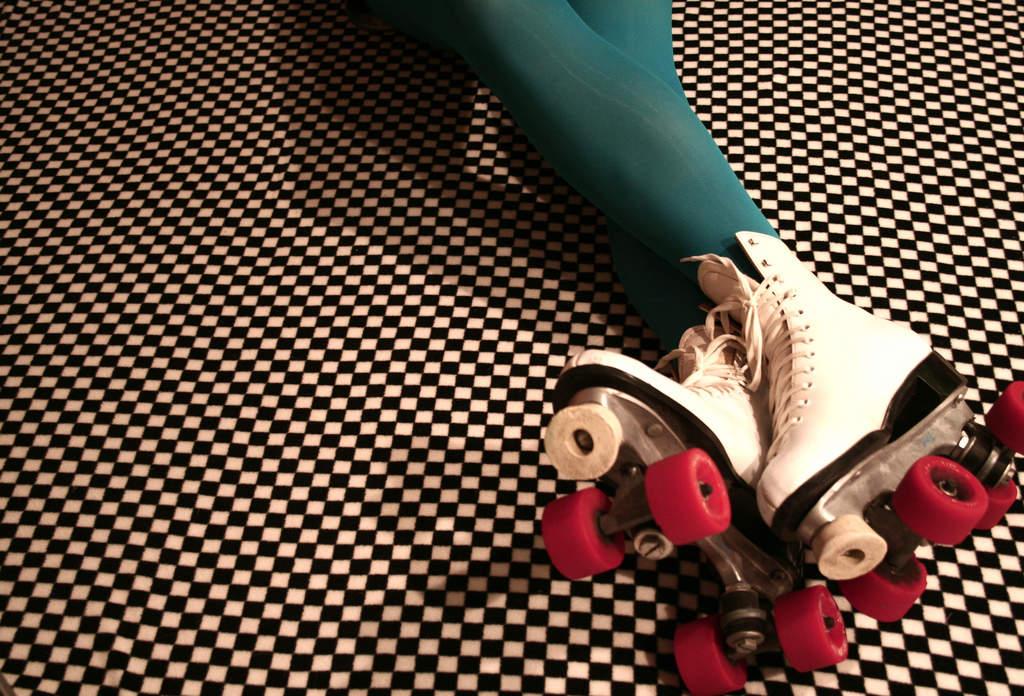 Rollerskating disco