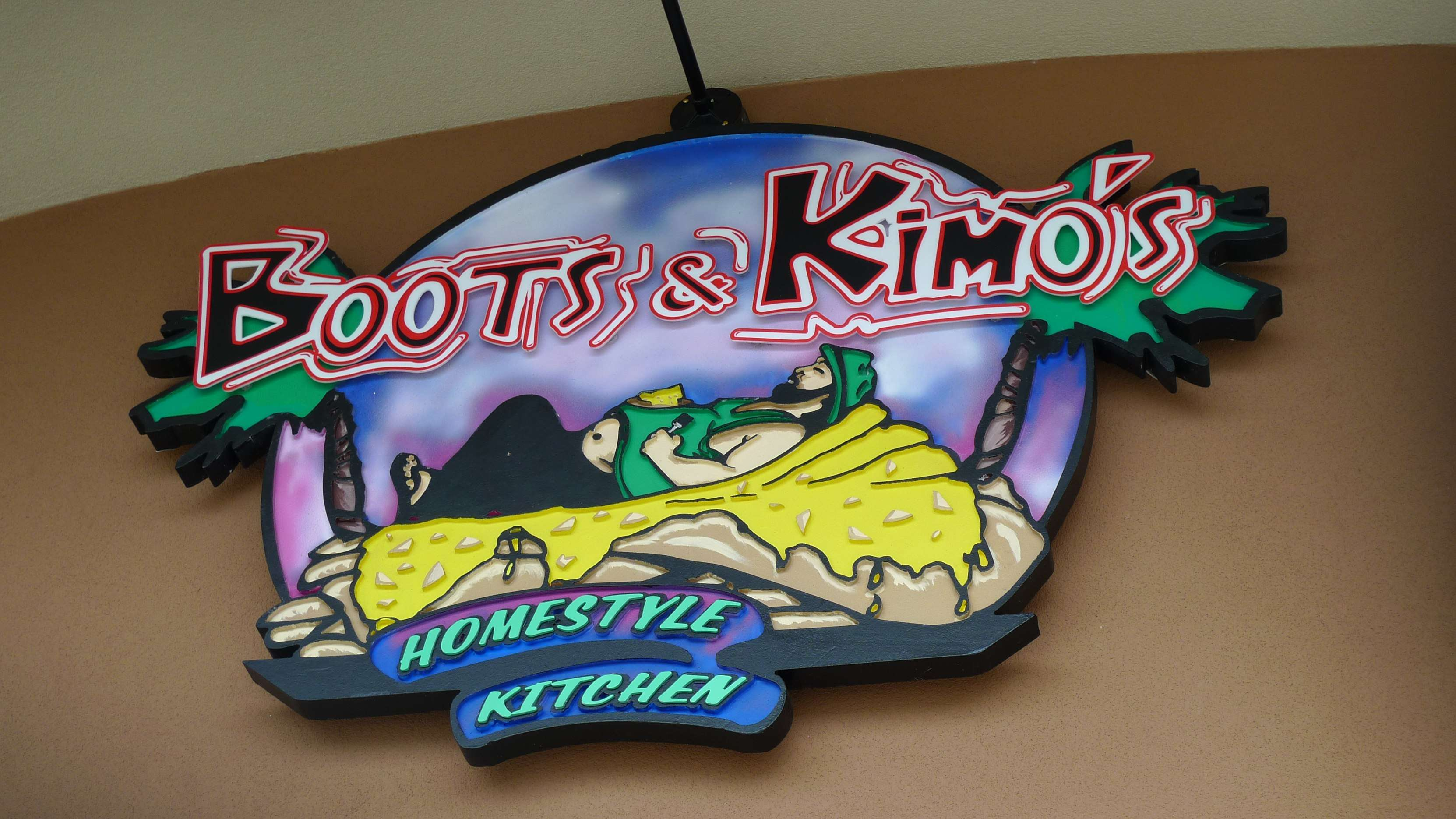 Boots and Kimo's Homestyle Kitchen