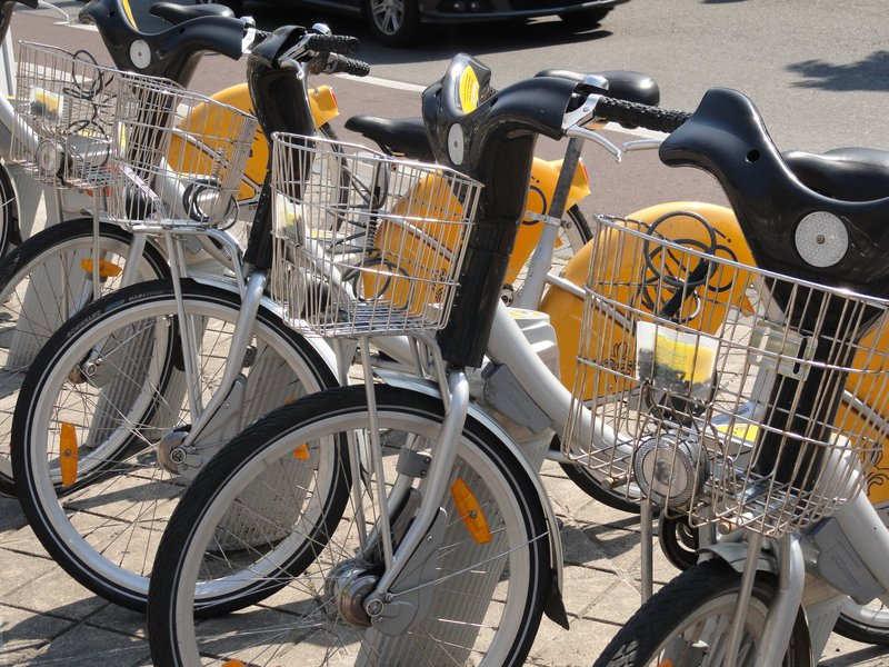 Villo! self-service bicycle hire