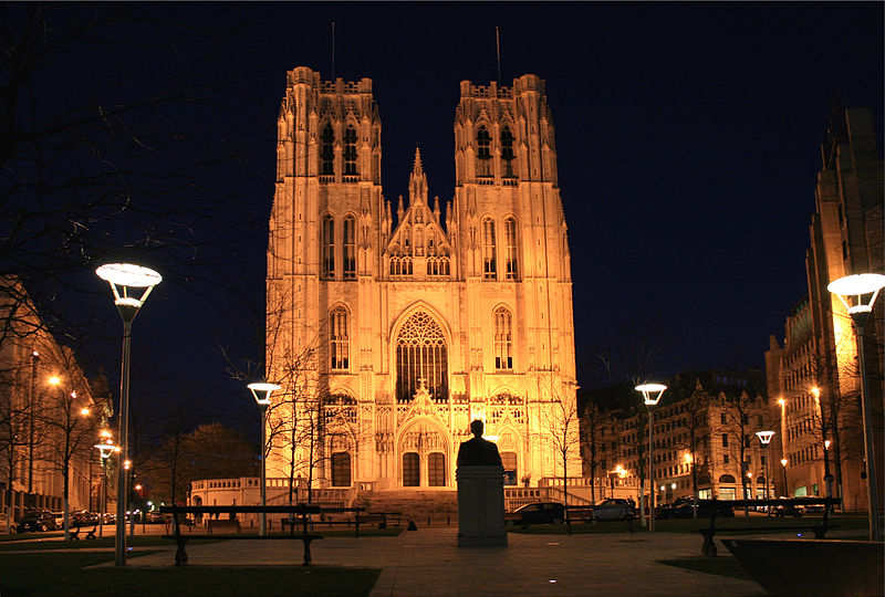 The Cathedral of St Michael & St Gudula