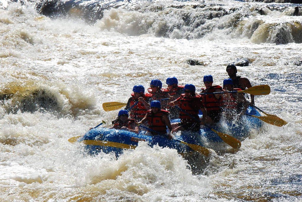 White Water Rafting on the Arve River