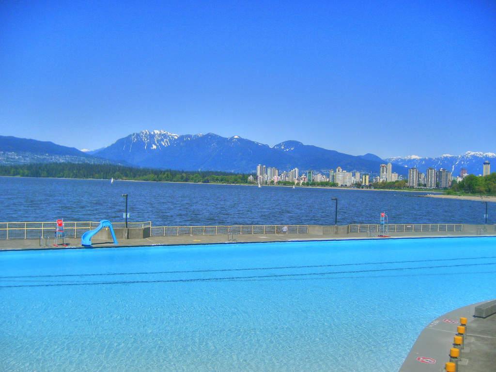 Take a Dip in Kitsilano Pool