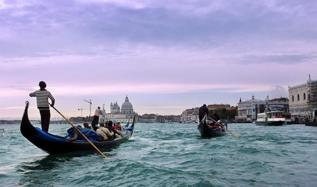 Gondolas and Traghetti
