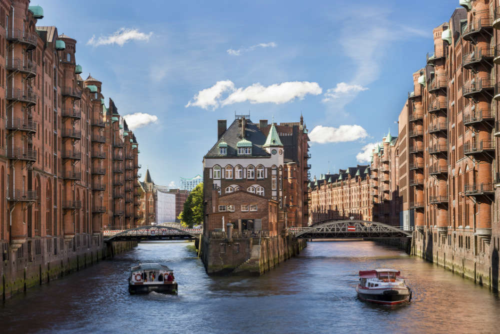 Hamburg, the city of bridges