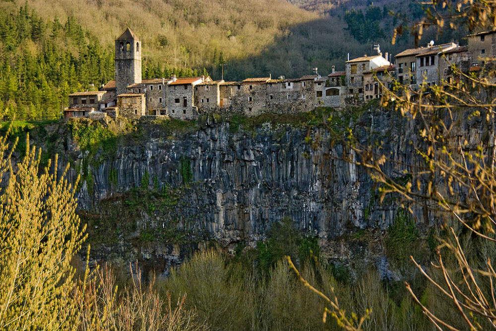 The picturesque village of Castellfollit de la Roca