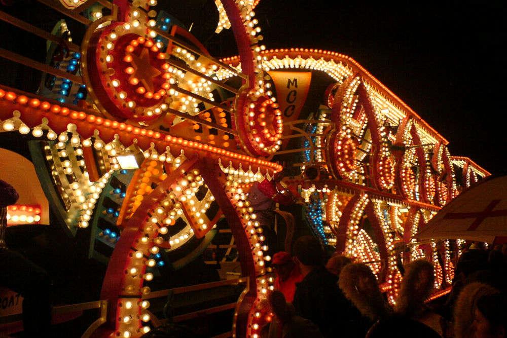 Bridgwater Carnival—illuminated parade