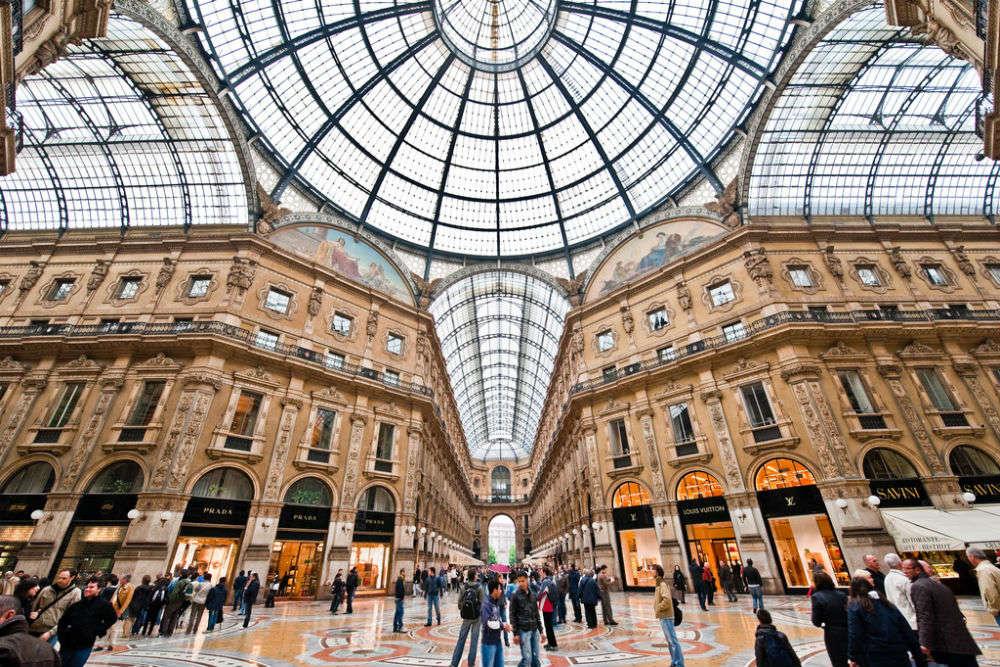 Milan's most popular retail hubs
