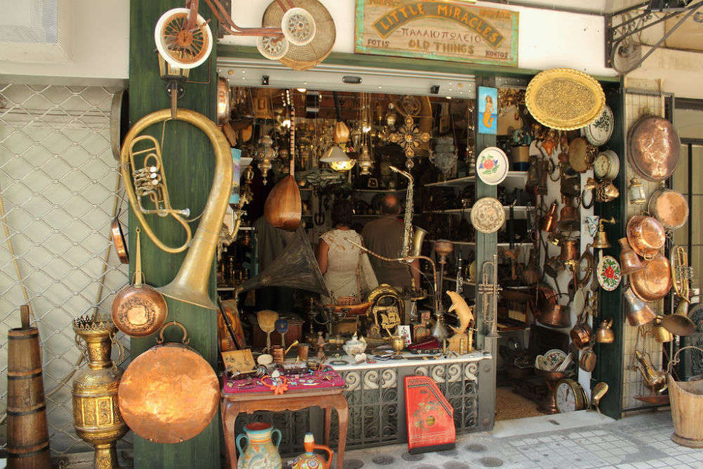 Shop like a local in Athens