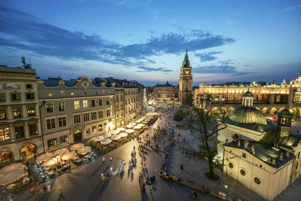 Krakow, uncovered
